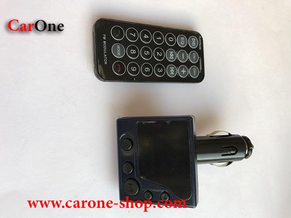 پخش کننده خودرو اف ام و اف ام  مدلاتور همراه با بلوتوث