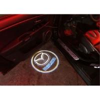 لوگولایت لیزری زیر درب خودرو  Mazda