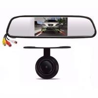 آینه مانیتوردار + دوربین دید درشب